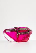 Superbalist - Transparent waist bag - pink