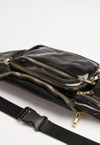 Superbalist - Transparent waist bag - black