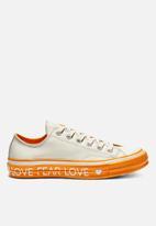 Converse - Chuck 70 Ox -  egret/egret/field orange