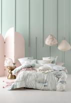 Linen House - Shoji duvet cover set - mint