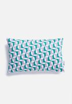 Sixth Floor - Ivana cushion cover - turquoise
