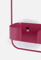 Smart Shelf - Orbit shelf - salmon pink