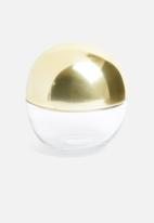 Sixth Floor - Orbit storage ball - gold