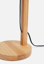 Sixth Floor - Emile desk lamp - charcoal
