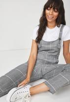 Cotton On - Woven Fiona jumpsuit - grey