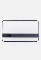 Smart Shelf - Orbit shelf - black