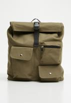 Superbalist - Ronan utility backpack - khaki