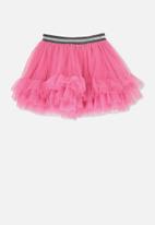 Cotton On - Trixiebelle tulle skirt - pink