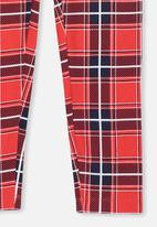 Cotton On - Huggie tights - red
