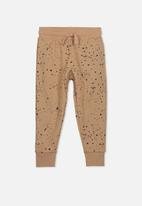 Cotton On - Leo trackpant - brown