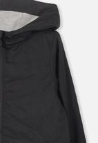 Cotton On - Houston spray jacket - black
