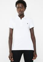POLO - Margot pony golfer - white