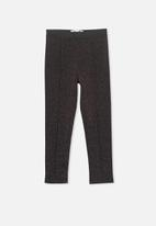 Cotton On - Peggy pant - black & pink