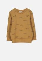 Cotton On - Lachy crew jumper - tan