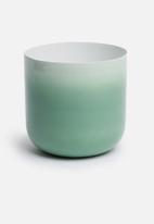 Sixth Floor - Ortin vessel - green ombre