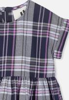 Cotton On - Malia short sleeve dress - navy