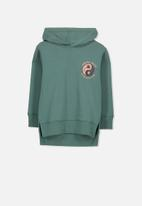 Cotton On - Liam hoodie - green