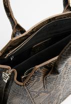 Missguided - Snake handbag - brown