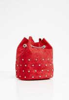 New Look - Tami stud duffle mini - red