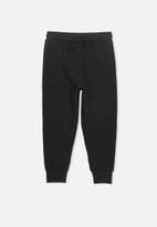 Cotton On - Lewis trackpant - black