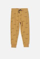 Cotton On - Lewis trackpant - tan