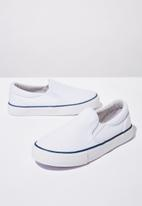 Cotton On - Classic slip on - white