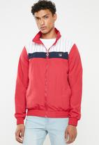 FILA - Tobsi track top - red