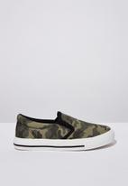Cotton On - Classic slip on - green