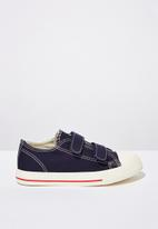 Cotton On - Classic trainer multi strap - navy