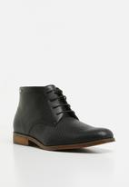 Anton Fabi - Pulido lace up boot - black