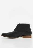 Anton Fabi - Pulido lace up boot - black