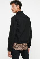 Superbalist - San Fran Denim Trucker Jacket - black rinse