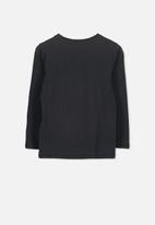 Cotton On - Penelope long sleeve tee - black