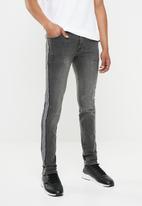 Superbalist - Skinny tape jeans - grey