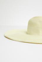 Superbalist - Summer straw hat - neutral