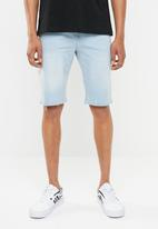 STYLE REPUBLIC - Denim shorts with belt loops - blue