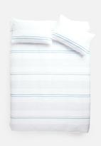 Sixth Floor - Norton stripe printed duvet set - multi