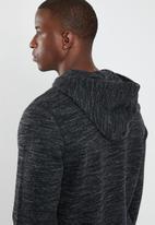 Reebok - EL Big logo hoodie - black
