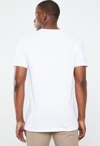 RVCA - Big RVCA short sleeve T-shirt - white