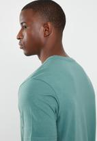 RVCA - Colour label short sleeve tee - green