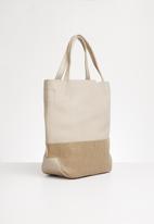 STYLE REPUBLIC - Croc detail shopper bag - beige