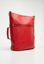 Superbalist - Convertible backpack - red