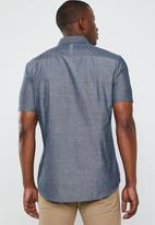 STYLE REPUBLIC - Gentlemen short sleeve shirt - blue