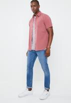 STYLE REPUBLIC - Roll sleeve shirt - pink