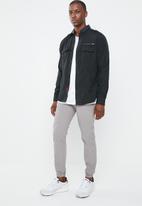 STYLE REPUBLIC - Frantz zip detail shirt - black