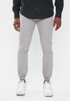 STYLE REPUBLIC - Jogger with elasticated cuffs - grey
