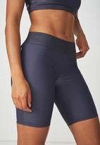 Cotton On - Active mid gym shorts - blue
