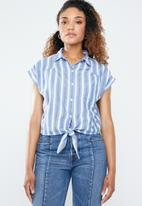 Forever21 - Stripe shirt - blue