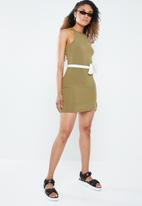 Forever21 - Bodycon tank dress - green