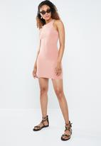 Forever21 - Bodycon tank dress - pink